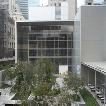Bild des Museums of Modern Art in New York City, Manhattan.